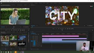 חשיפת וידאו דרך טקסט - מדריך פרמייר פרו premiere pro