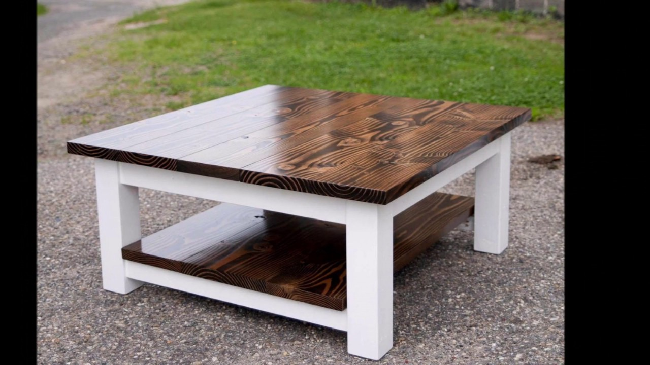 awesome diy coffee table ideas decoration - youtube