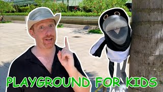 Zapętlaj Playground for Kids | English for children with Steve and Maggie | WATTSENGLISH