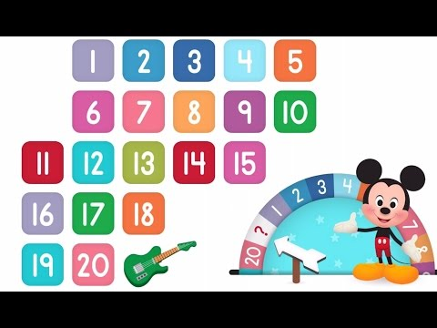 Learn Numbers Disney Buddies 123s | Kids Counting Numbers 1 to 20 by Disney