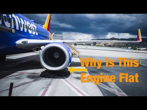 Why Are Boeing 737 Engines Flat On Bottom?