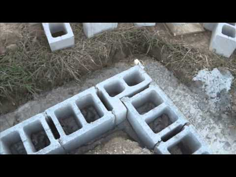 Laying block in the foundation youtube laying block in the foundation solutioingenieria Images