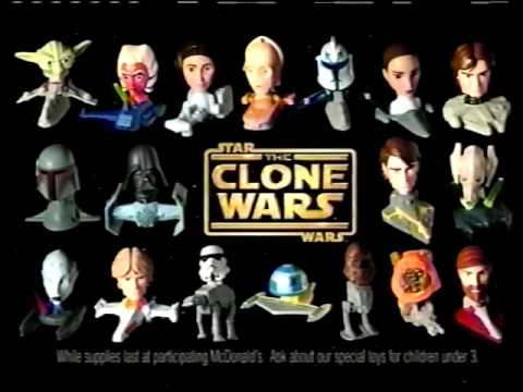 McDonald's Happy Meal - Star Wars: The Clone Wars (August 2008)