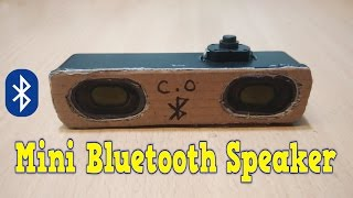 how to make bluetooth speakers at home - homemade