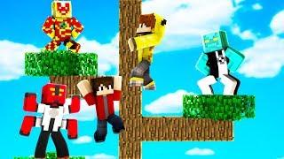 ISMETRG OMNİTRİX AĞACINA TIRMANDI! 😱 - Minecraft