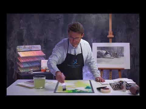 Konstantin Sterkhov's watercolour masterclass. Lesson 4