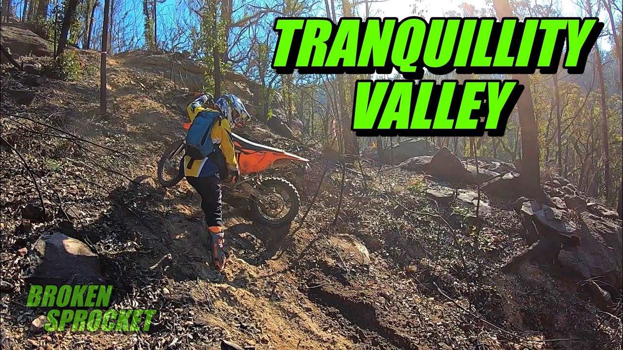 Tranquillity Valley Enduro Trial KTM 350 EXC-F