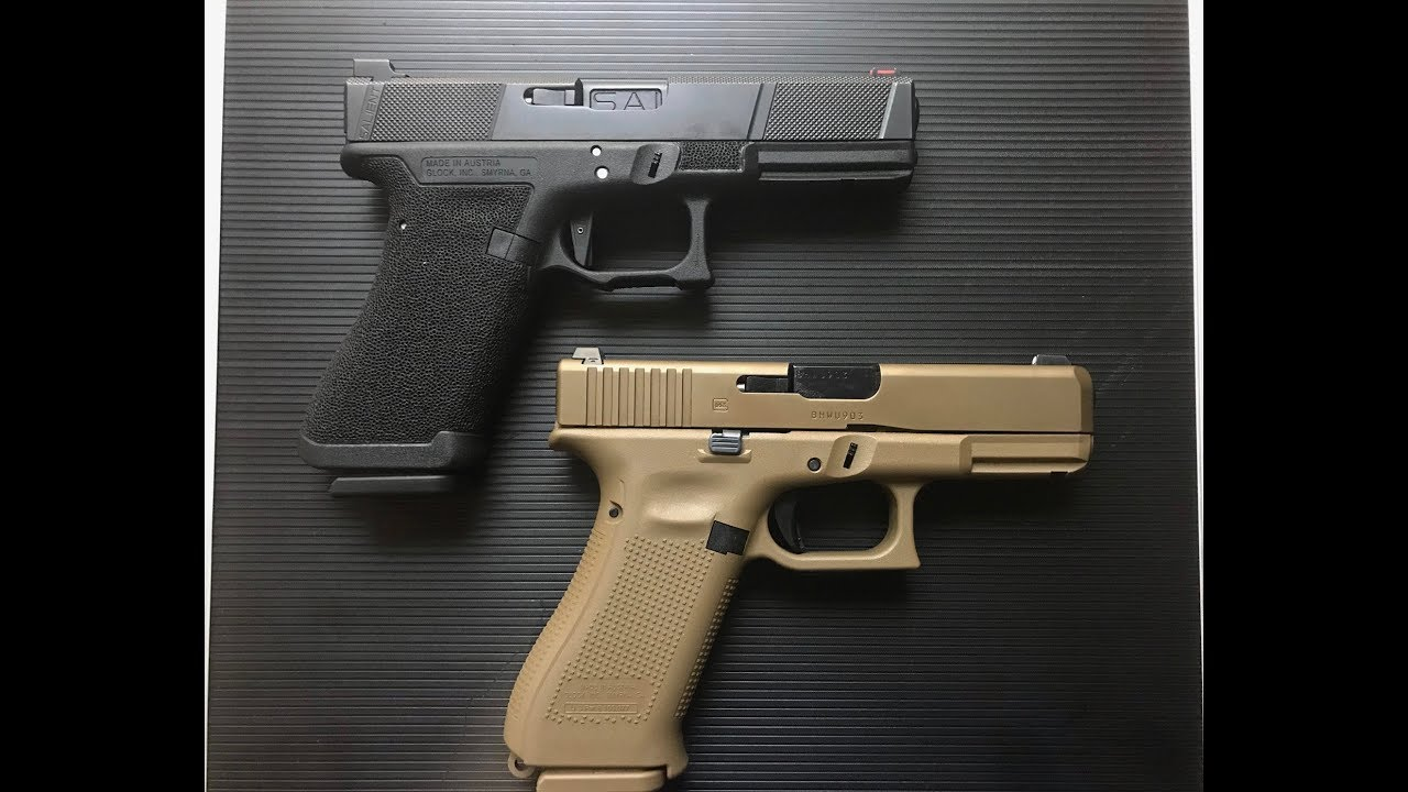 glock 19x vs glock 17 salient youtube