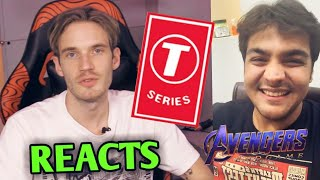 PewDiePie Reacts To His Diss Tracks Removed By T-Series | PewDiePie Vs T-Series | Ashish Chanchlani