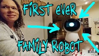 (JIBO) SURPRISING MY FAMILY WITH A ROBOT - The Omar Gosh Vlogs