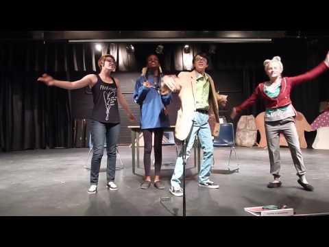 "Fremont Junior High School musical ""Dorothy in Wonderland"""