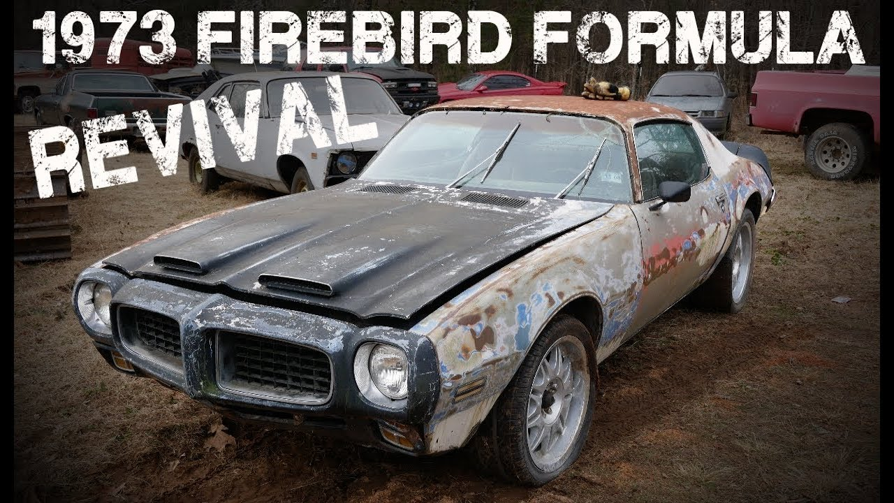 Pontiac Firebird Formula First Start in Years!