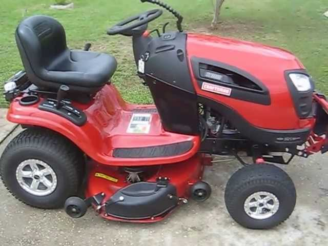 2012 Craftsman Yt3000 Tractor With A C Mist Control Youtube