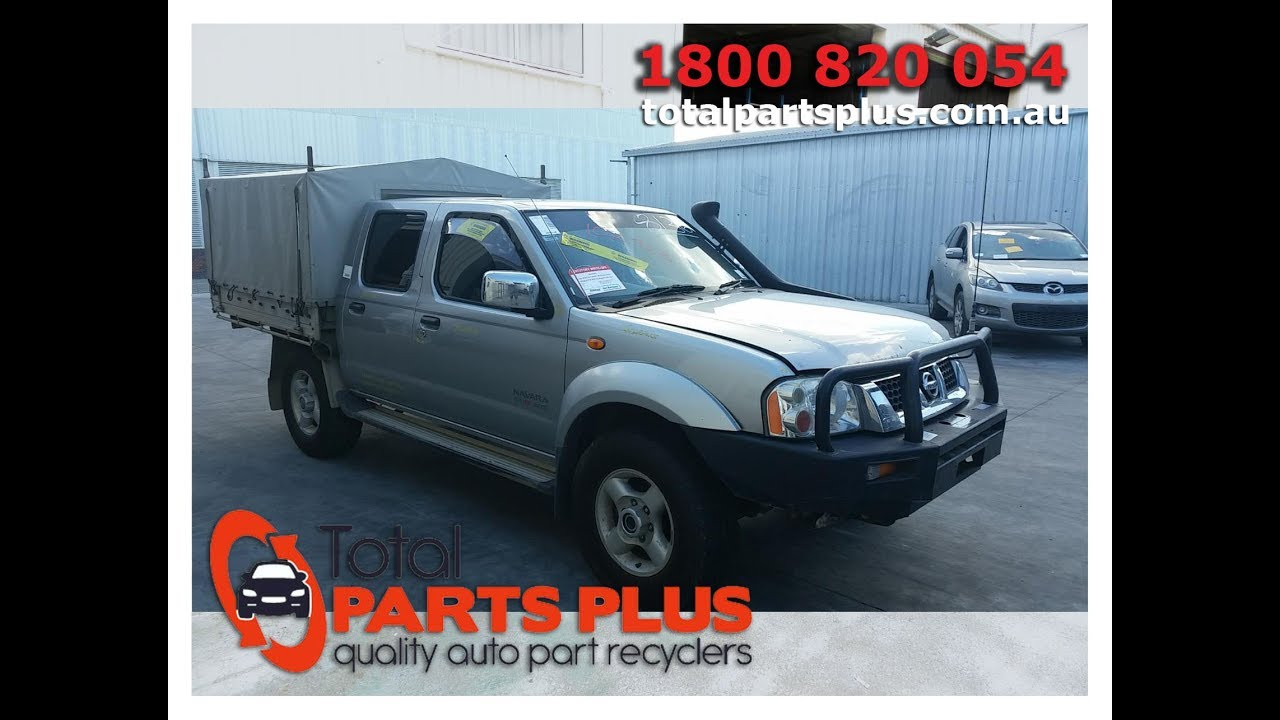 Nissan Wreckers Brisbane-2006 Nissan Navara-Total Parts Plus