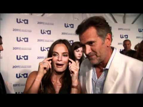 Bruce Campbell , Gabrielle Anwar & Coby Bell tease Burn Notice Spoilers at USA Upfronts
