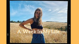 A week in my life *full time - gap year edition*
