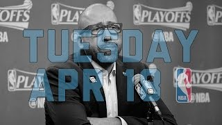 Nba daily show: apr. 18 - the starters