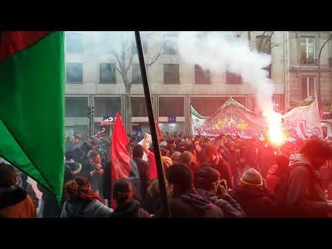 Marche Nationale sur l'Élysée. Paris/France - 18 Novembre 2017