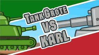 ТГ vs Карл | Атака Стальных Монстров №7 | Мультики про танки
