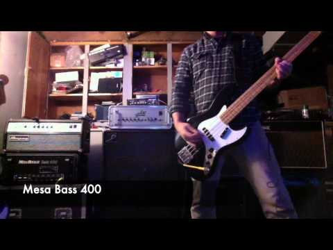 Aguilar DB 751 / Ampeg SVT / Mesa Bass 400