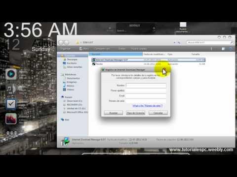 Serial para Internet Download Manager IDM 605 -