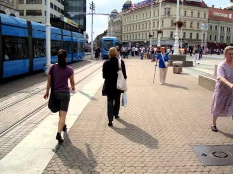 Walk in Zagreb, Croatia