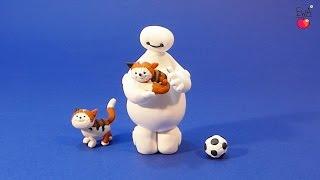 BAYMAX from Disney Big Hero 6 movie - tutorial polymer clay modelina