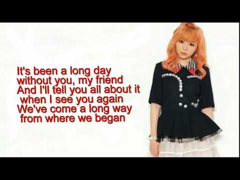 J fla cover ( See You Again & One Call Away lyrics)   YouTube