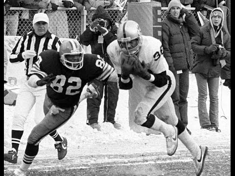 Raiders at Browns 1980 playoffs
