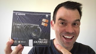 Canon PowerShot SX730 HS Unboxing & Full Review