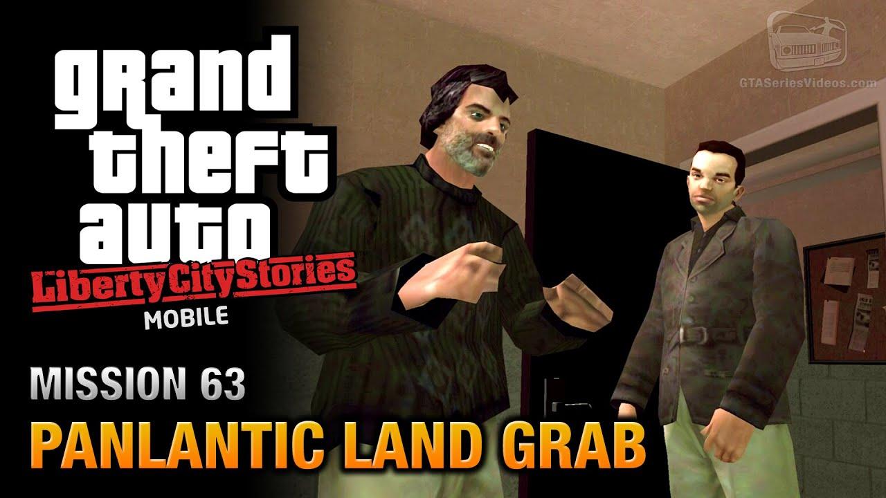 GTA Liberty City Stories Mobile - Mission #63 - Panlantic Land ...