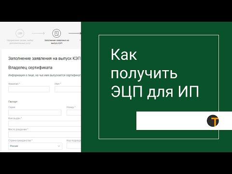Эцп регистрация ип регистрации ип в оренбурге
