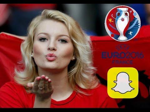 Euro 2016 ya damga vuran snaplar