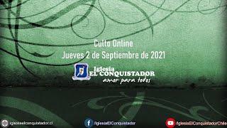 Culto online - Jueves 2 de Septiembre de 2021