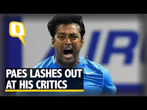 The Quint: Leander Paes Lashes Out at His Critics After Rio Exit