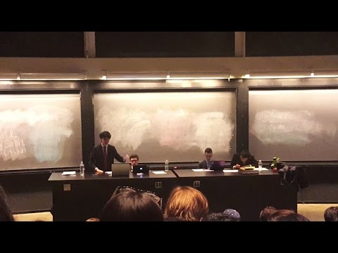 Harvard 2017 Public Forum Finals Millburn CY vs Ardrey Kell HX