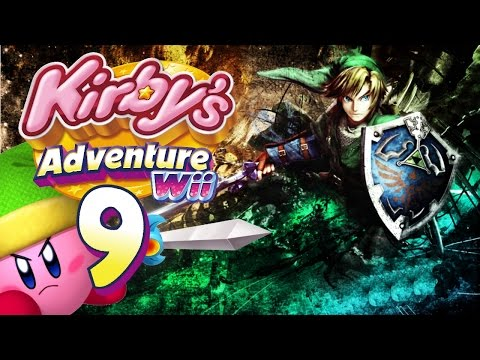Let's Play Kirby's Adventure Wii #9: The Legend of Zelda [HD+] [GER]