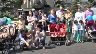 Близнецы Казани встретились в парке Победы