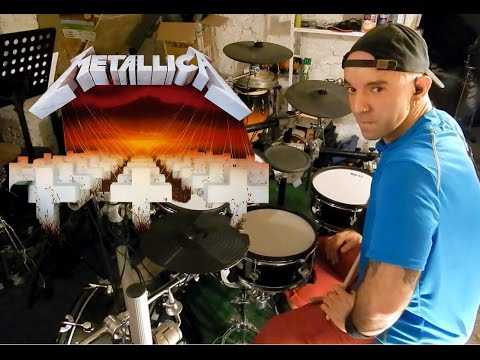 """Battery """"Extreme metal"""" version drum cover"""