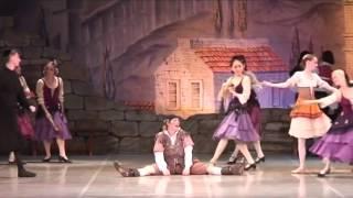 "Classical ballet  ""Don Quixote"". Sancho Panza"