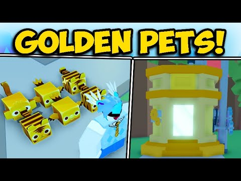 [Roblox] GETTING FULL TEAM OF OP GOLDEN PETS AND FREE VIP UPDATE 1 | Pet Simulator 2 [NEW]