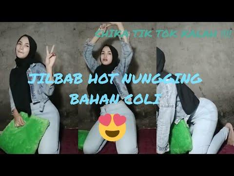 Chika Tik Tok Viral. Kalah ? Video Tik Tok Jilbab Hot Goyang Nungging