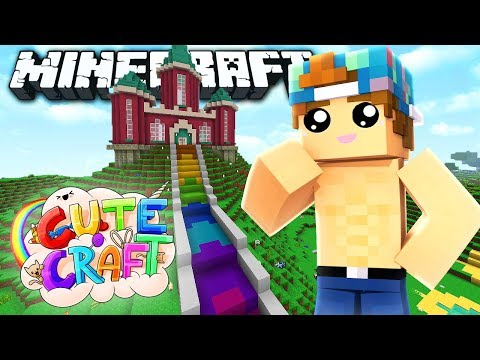 I COPIED LIZZIE'S HOUSE!? | CuteCraft #2