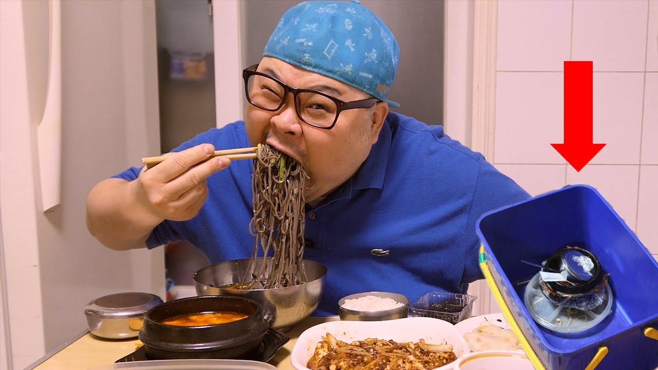 「혼밥 가이드」집밥먹방│편집자들 휴가는 없다.고정댓글 참조😒 Mukbang Eatingshow [ Cold Noodles,Fried Chicken,Stir-fried Squid