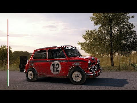 Dirt Rally Mini Cooper S Baumholder Germany