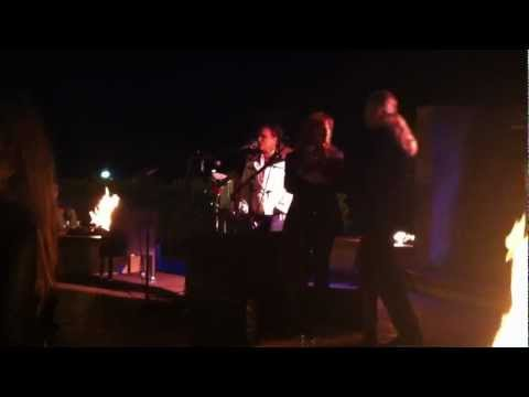 Lisa Lynn Morgan with Meltdown singing