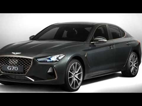 Genesis G70 2018, официальная премьера нового Генезис G70