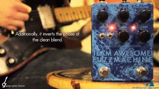 Guitar Demo: Small Sound Big Sound Team Awesome Fuzz Machine