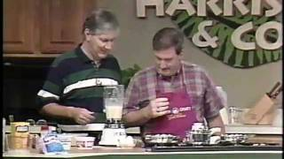 Dixie Crystals Blueberry Blintzes - Healthy Cooking with Jack Harris & Charles Knight