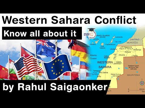 Western Sahara Conflict explained - What role UN, US & EU can play in pacifying this African region?